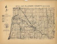 Map Image 024, Allegan County 1954